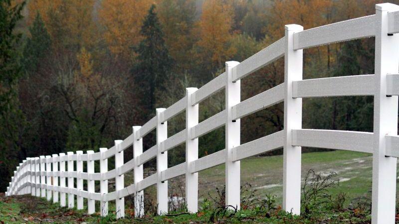 ogrodzenia drewniane panelowe