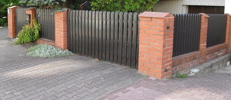 przęsła ogrodzeniowe betonowe
