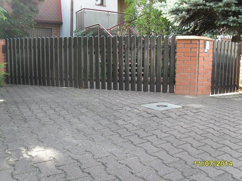 ogrodzenia bramy przesuwne