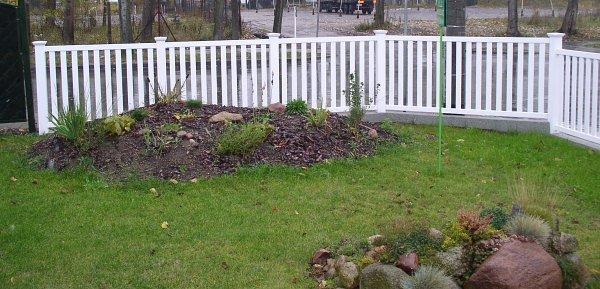 sztachety ogrodowe
